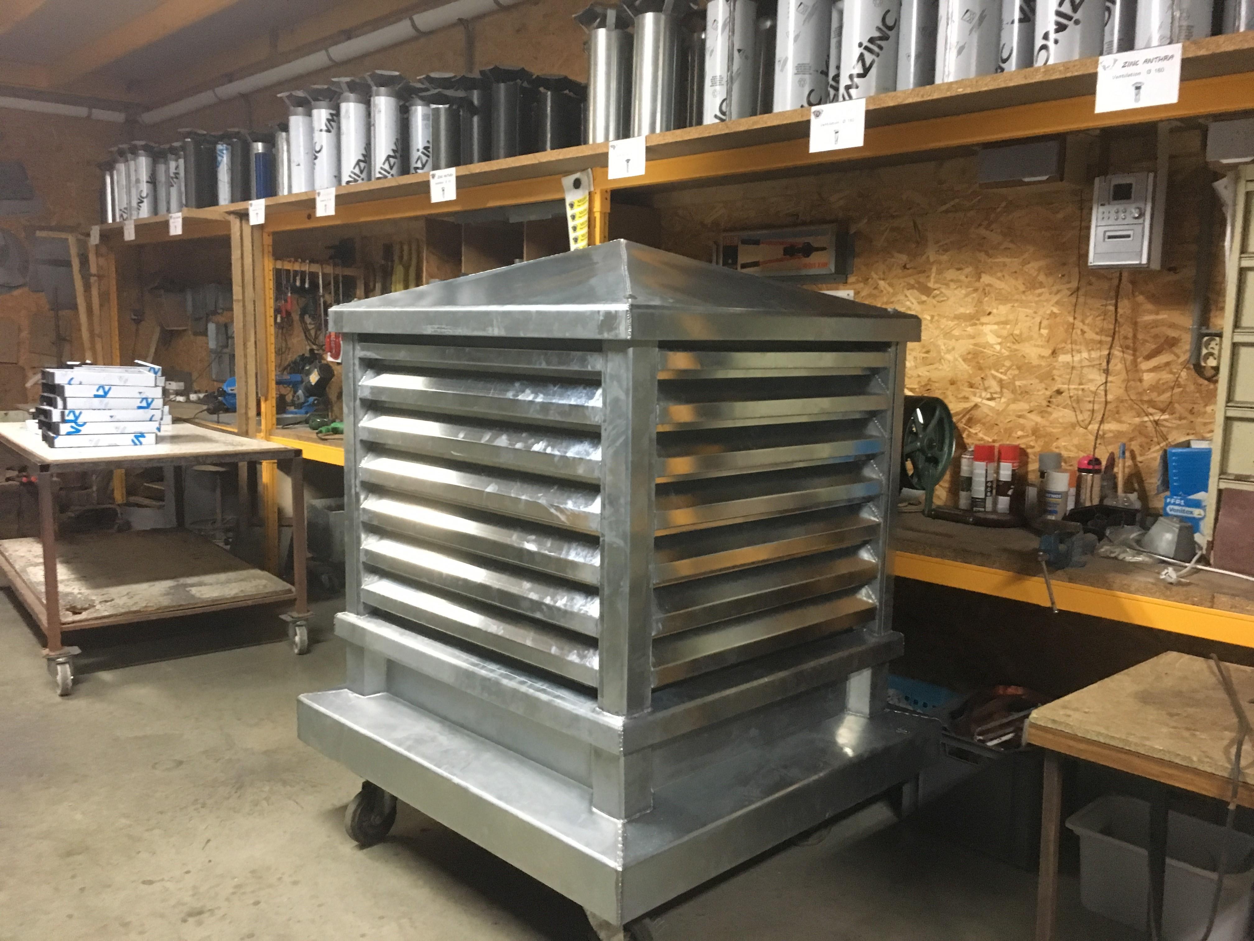 Caisson de Ventilation Hors standard